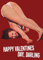 Happy Valentines Day Darling Valentines Card