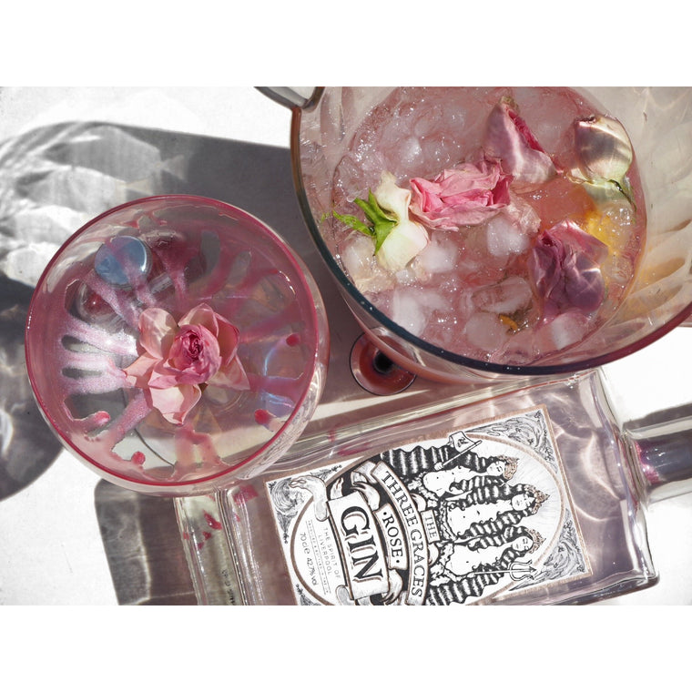 Three Graces Liverpool Rose Gin