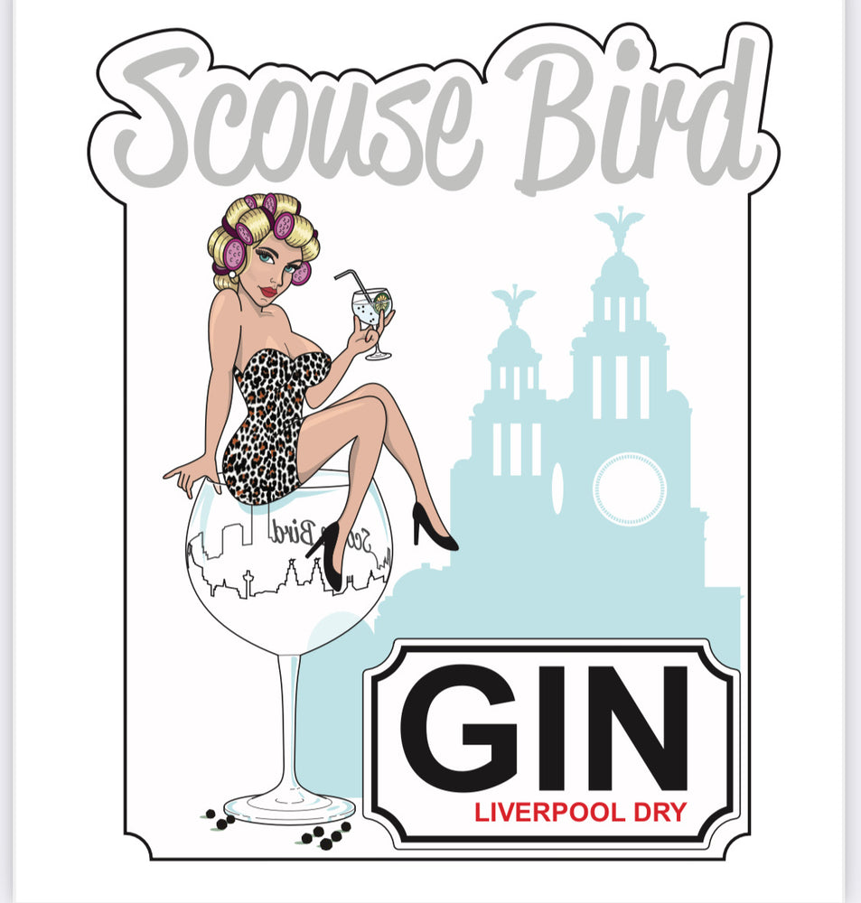 Load image into Gallery viewer, Scouse Bird Liverpool Dry Gin 700ml