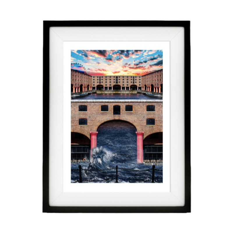 Liverpool Albert Dock Print