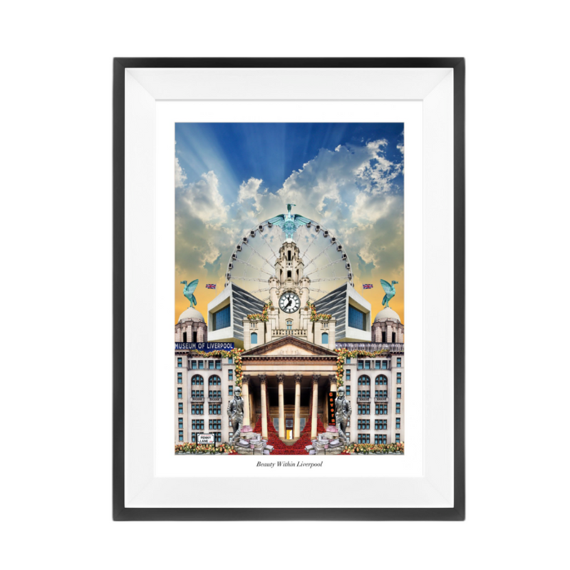 Liverpool Waterfront Print