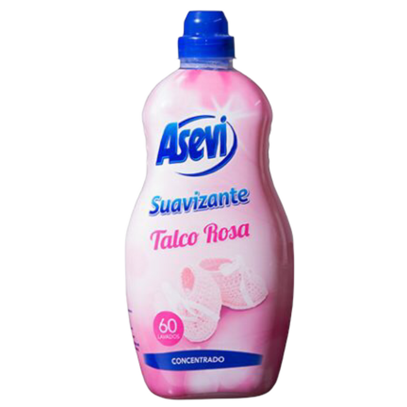 Asevi Fabric Conditioner - Talco Rosa 1.5L