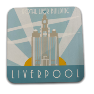 Art Deco Coaster - Liver Building