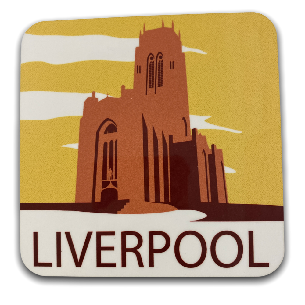 Art Deco Coaster - Anglican Cathedral Coaster
