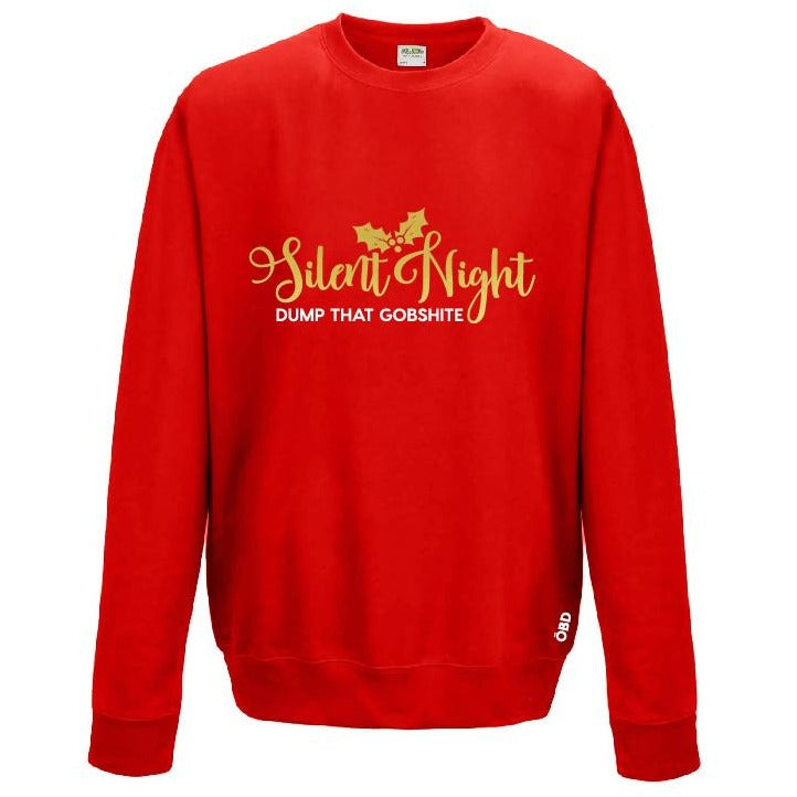 Scouse Bird Christmas Jumper - Silent Night