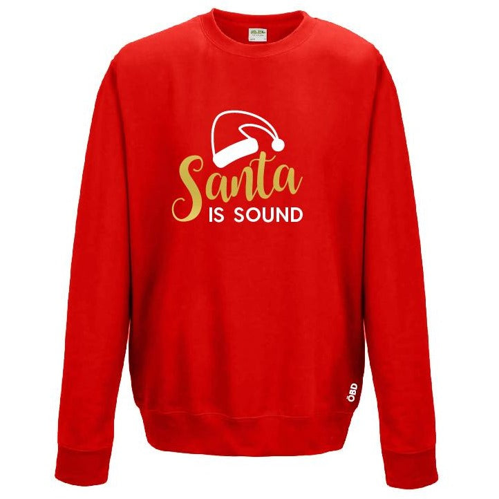 Scouse Bird Christmas Jumper - Santa Is Sound