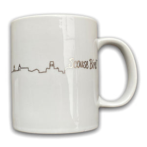 Scouse Bird Skyline Mug