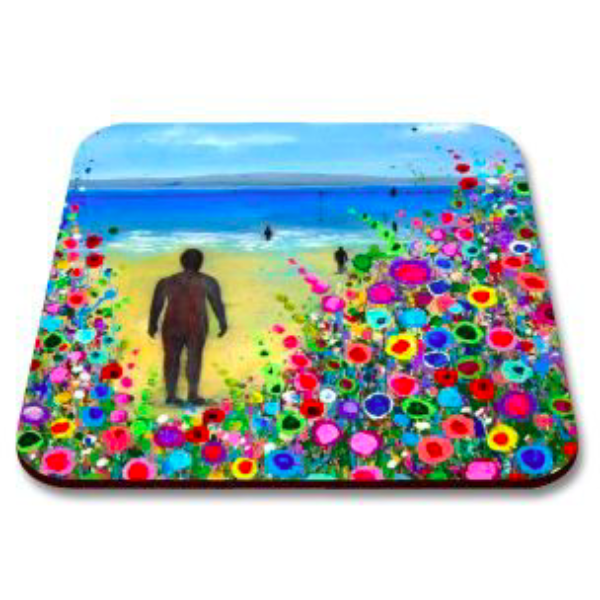 Load image into Gallery viewer, Liverpool Flower Coasters - Crosby Beach