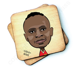 Sadio Mane Wooden Coaster