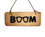 Klopp Boom Wooden Sign