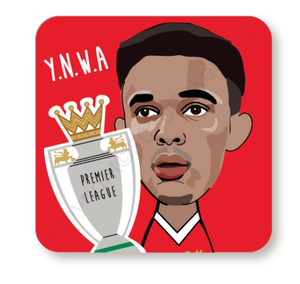 Trent Alexander - Arnold YNWA Red Cork Backed Coaster