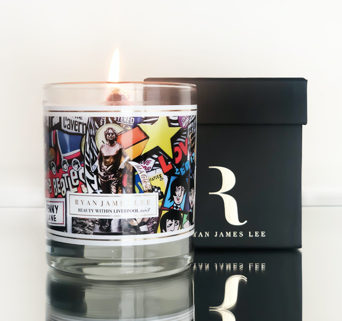 Ryan James Beauty In Liverpool Luxury Soy Candles