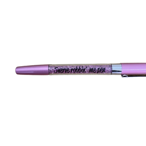 Load image into Gallery viewer, 'Swerve robbin me pen' Sparkle Ball Point Pen