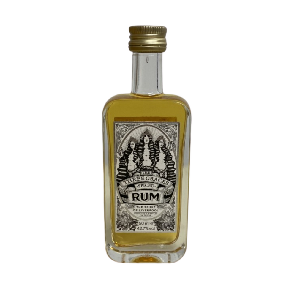 Three Graces Spiced Rum Miniature 50ml