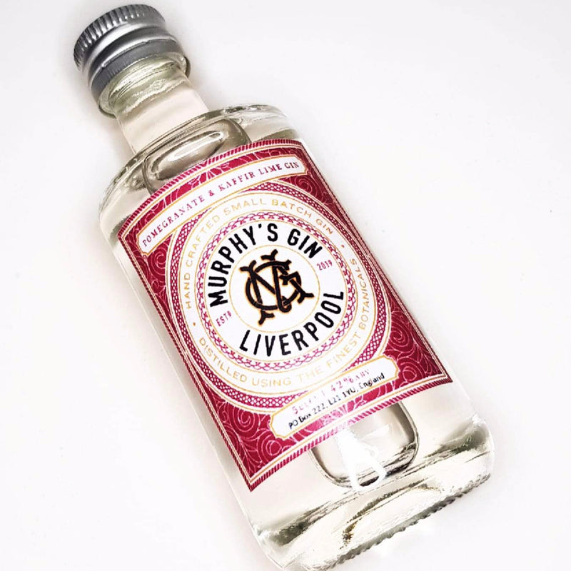 Murphy's Gin Miniature 50ml - Pomegranate & Kaffir Lime