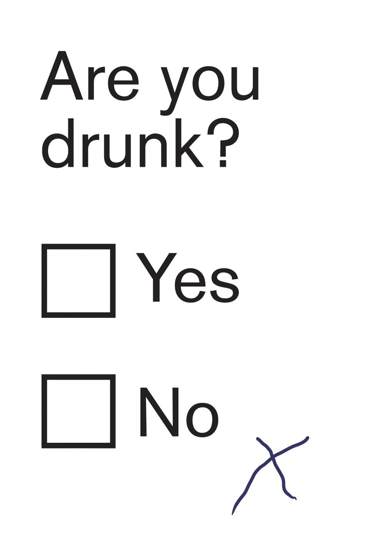 Are you drunk? Card