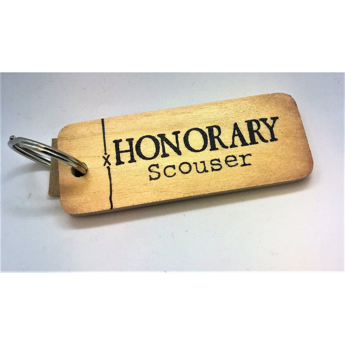 Honorary Scouser Keyring