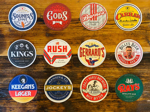 Beers of Anfield Road LEGENDS Beer Mats