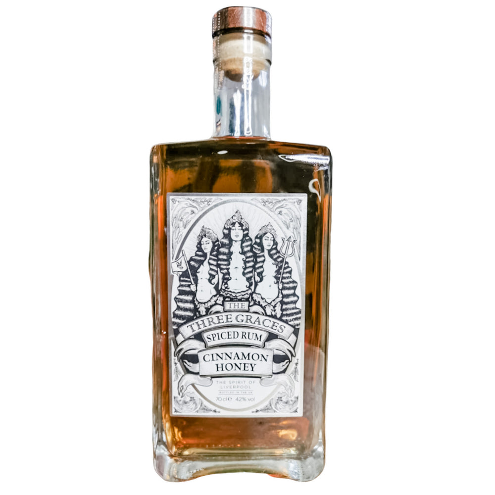 Three Graces Spiced Rum 70cl