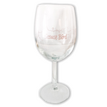 Scouse Bird Liverpool Skyline Wine Glass