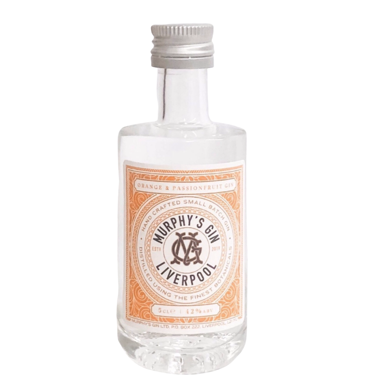 Murphy's Orange and Passionfruit Gin Miniature 50ml