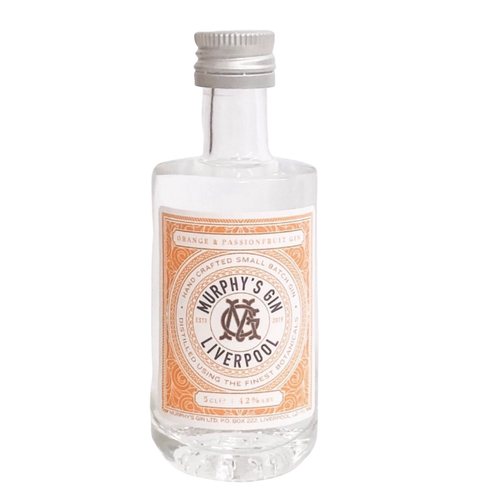 Murphy's Gin Miniature 50ml -  Orange and Passionfruit