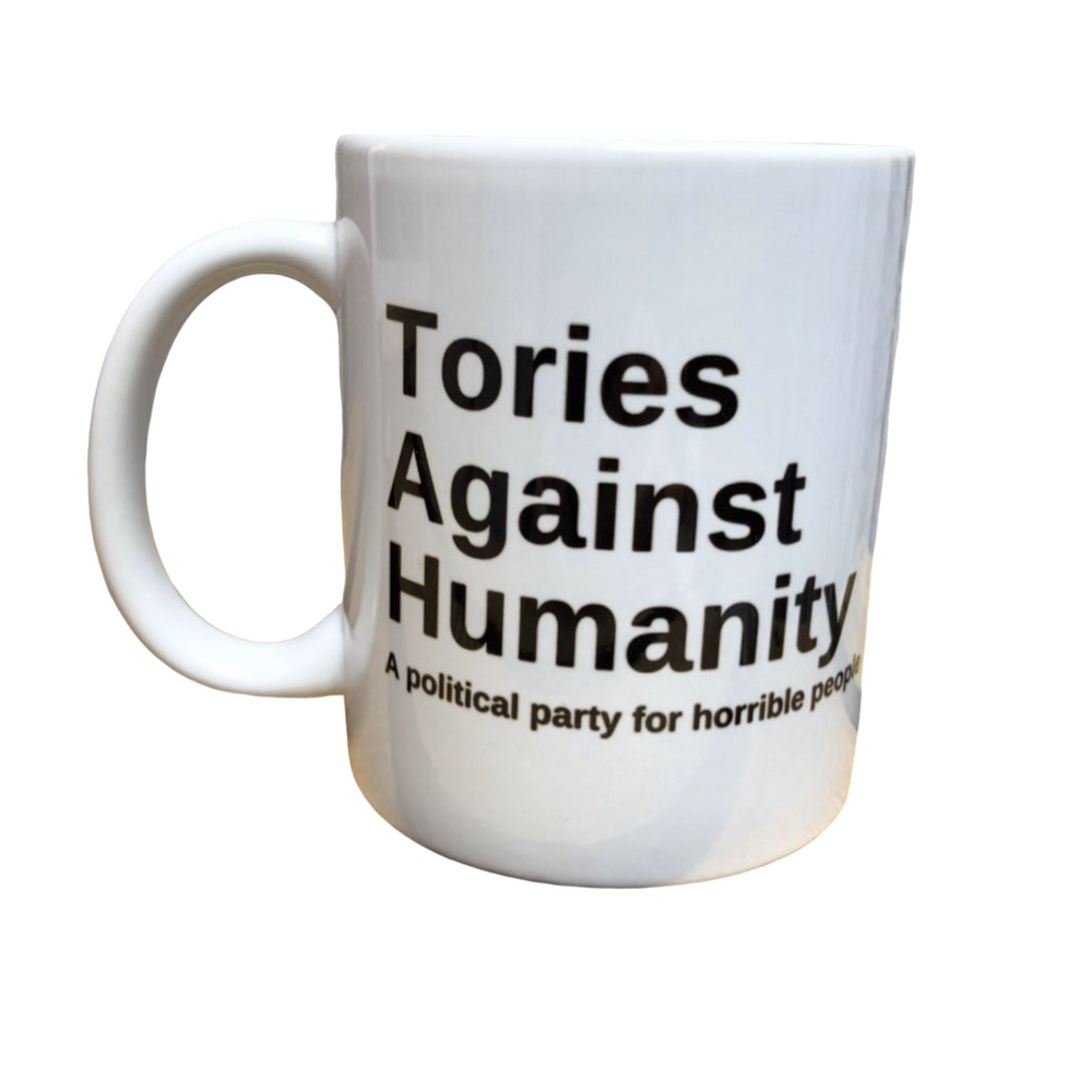 Tories Against Humanity Mug - Charity