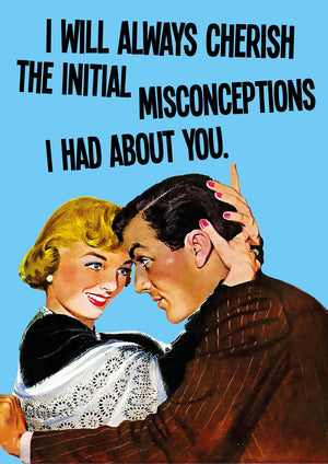 Cherished Misconceptions Card