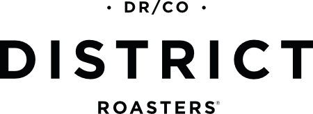 DISTRICT Roasters Houston Coffee Roastery Logo