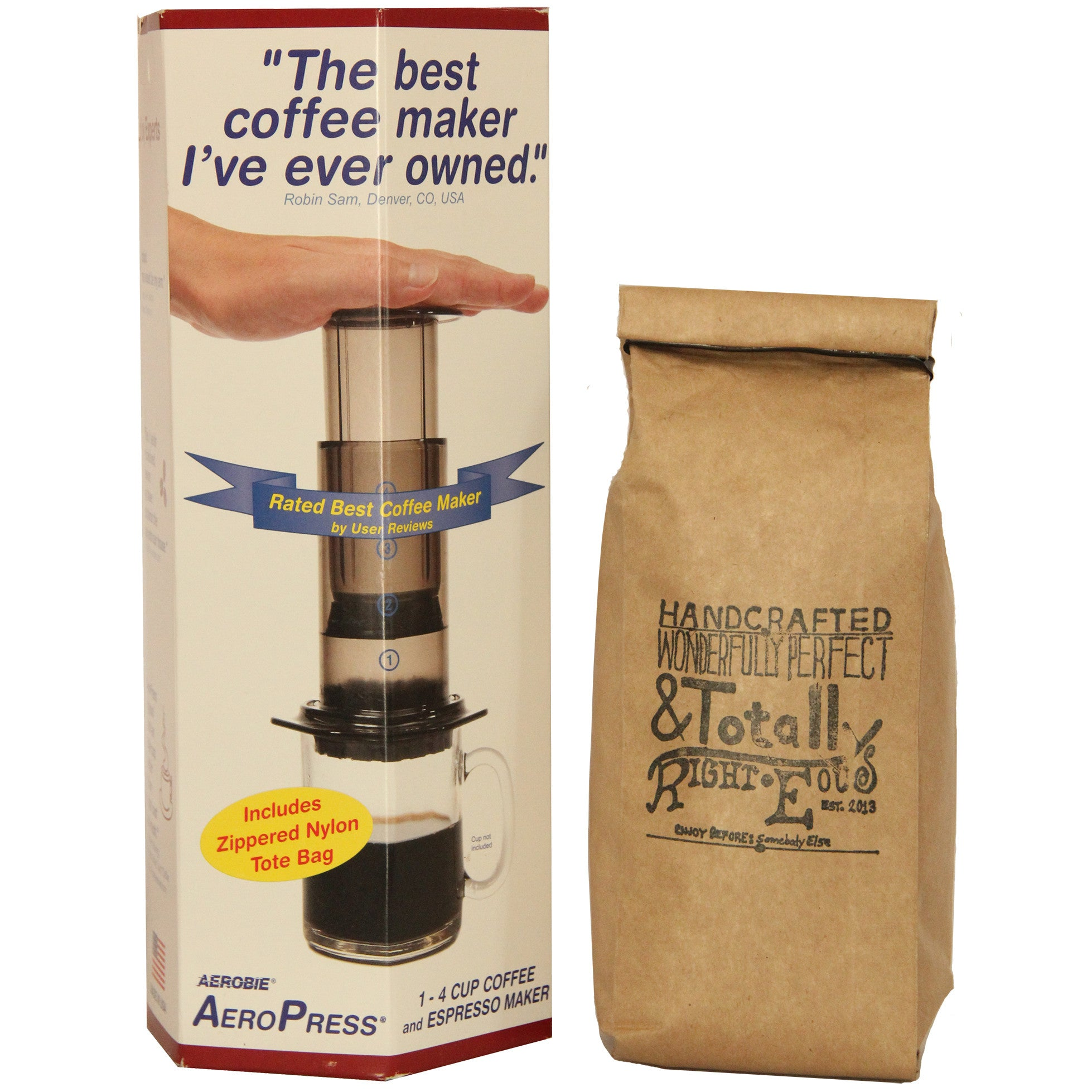 DISTRICT  |  Aeropress Combo Kit