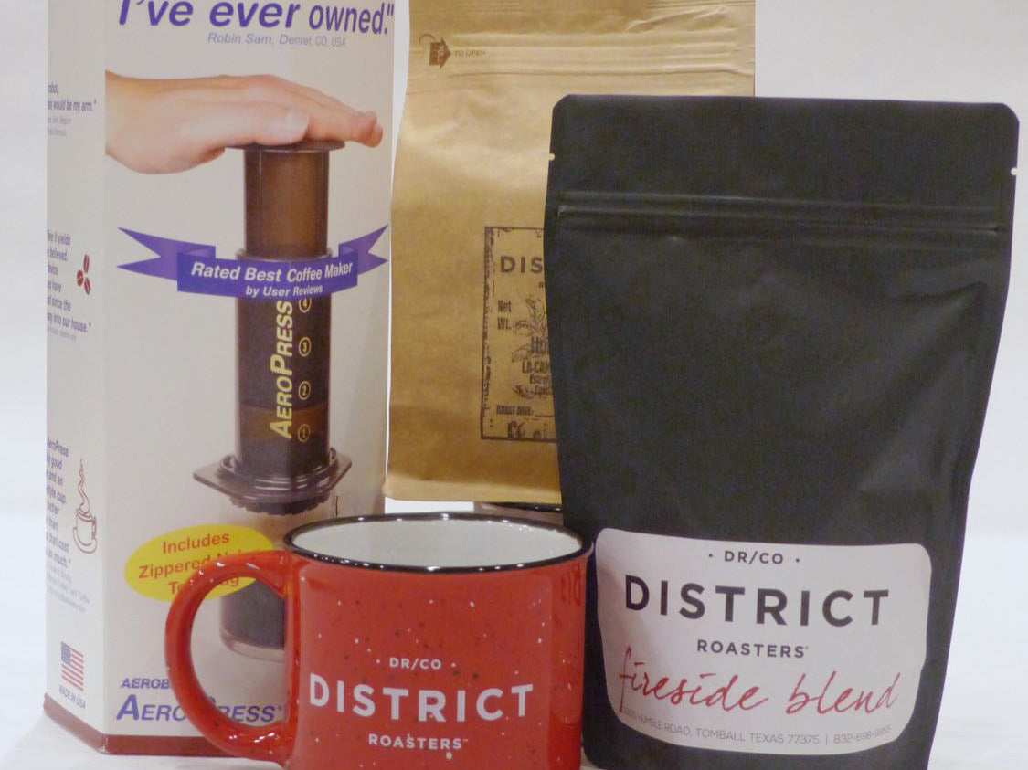 The Enthusiast Package w/ Aeropress!