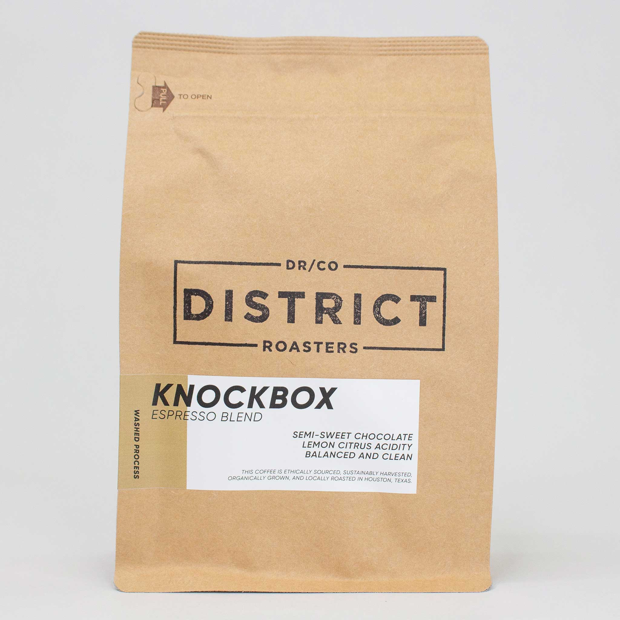 Knockbox Espresso Blend Weekly or Monthly Subscription