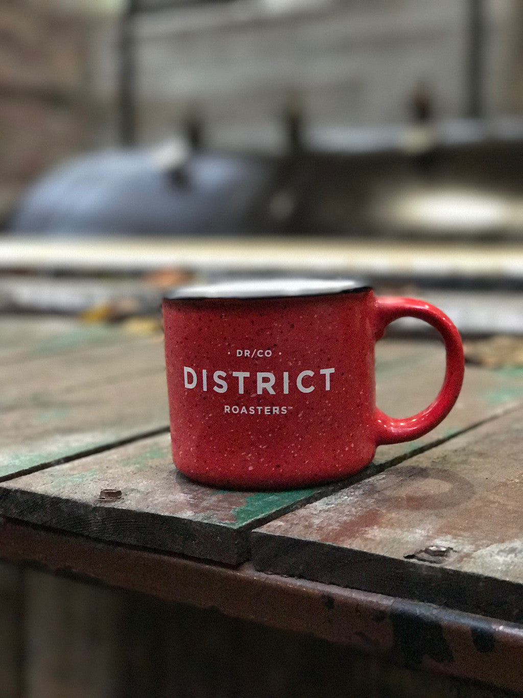 DISTRICT  |  15oz Camp Mug (RED)