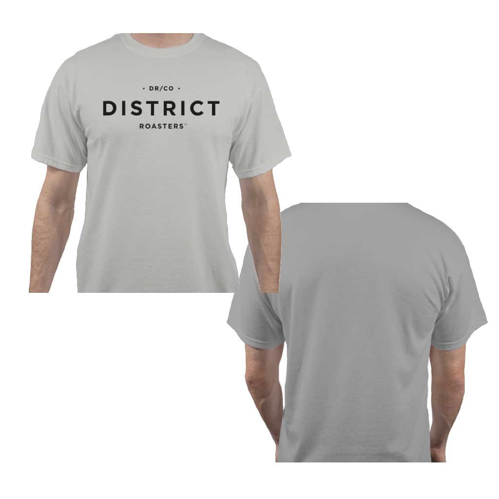 The Best DISRICT T-Shirt (Stealth Black or Skyline Grey)