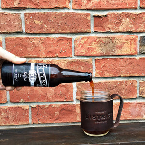 Pouring Nitro Cold Brew From The Bottle