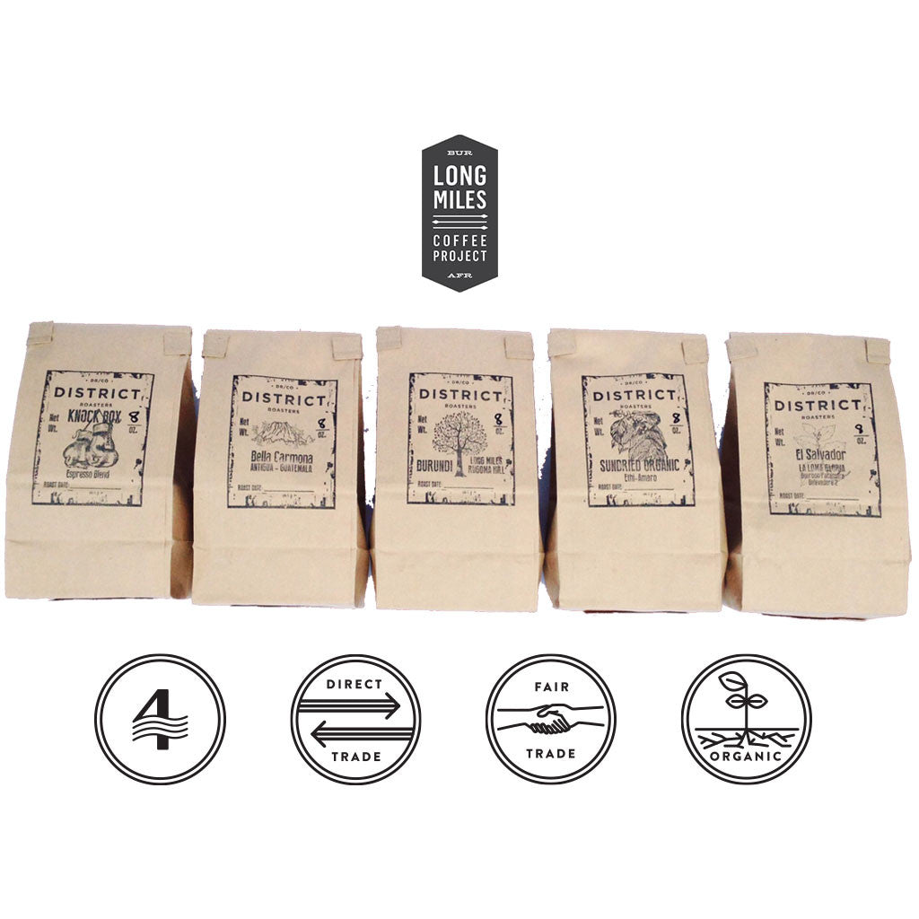 Seasonal Organic Coffee Sampler Product Image