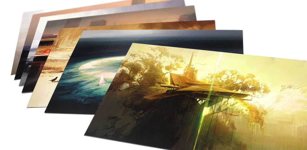"""Painting Portfolio Vol. 1"" Postcard Set by Wes21"