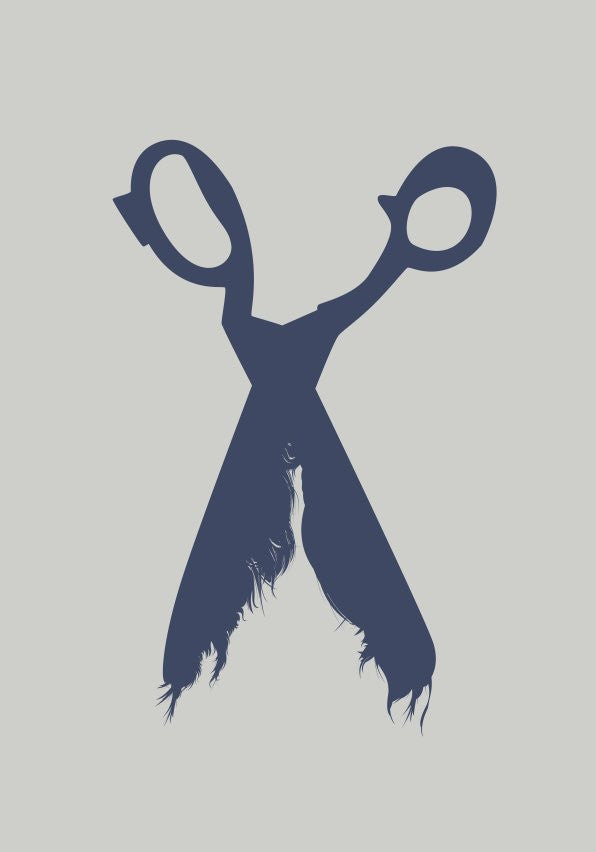 Hairy shears (re think things) by Till Könneker