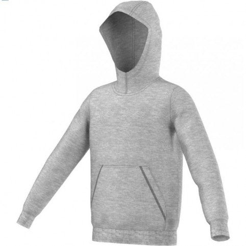 Adidas Youth Core Hoodie - Gray