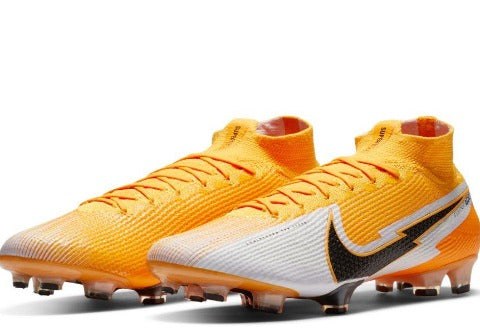 NIKE SUPERFLY 7 ELITE FG - LASER ORANGE/BLACK-WHITE