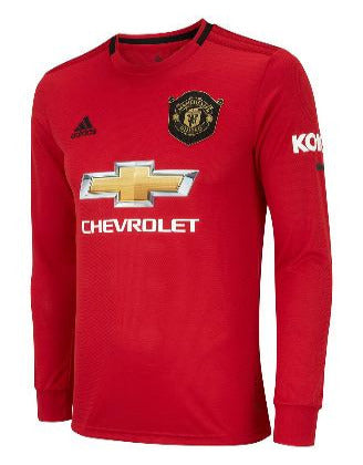 Adidas Manchester United Home Jersey Longsleeve 19/20