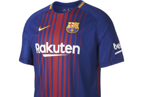 on sale f77f4 1035d Nike Barcelona Home Youth Jersey - 2017/18