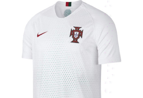 Nike Portugal Away Jersey 2018 - White/ Gym Red