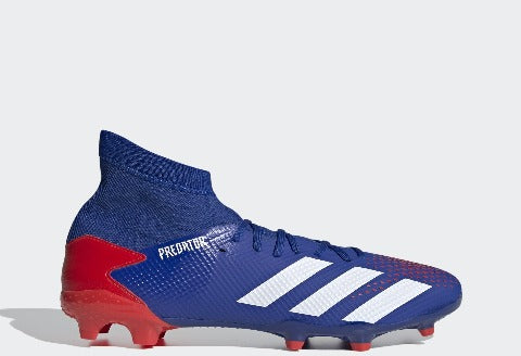 ADIDAS PREDATOR 20.3 FG - ROYAL/WHITE/RED