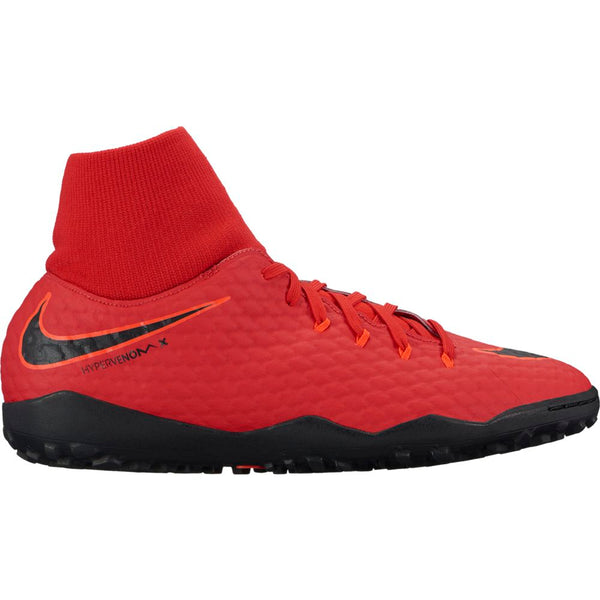 Nike HypervenomX Phelon 3 DF TF - University Red/ Black/ Bright Crimson