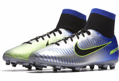 Nike Jr Mercurial Victory 6 DF NJR FG - Racer Blue/ Black/ Chrome
