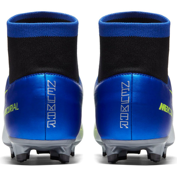 Nike Jr Mercurial Victory 6 DF NJR FG - Racer Blue/ Black/ Chrome/ Volt