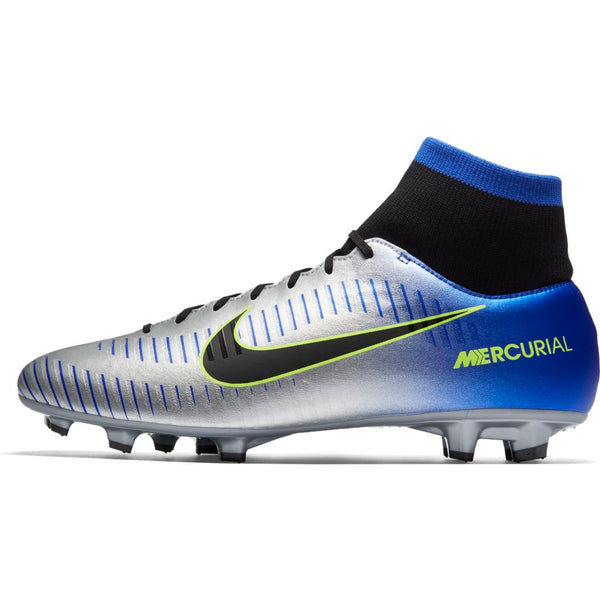 Nike Mercurial Victory 6 DF NJR FG - Racer Blue/ Black/ Chrome/ Volt