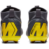 Nike Jr Superfly 6 Academy GS FG/MG - Carbon Grey/ Caution Yellow