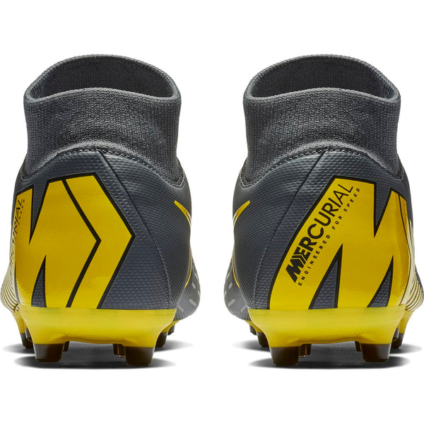 Nike Mercurial Superfly 6 Academy FG/MG - Carbon Grey/ Caution Yellow